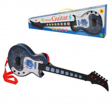 Гитара эл., свет, звук, эл.пит. АА*3 не вх.в комплект, кор.