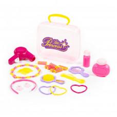 """Игровой набор салон красоты """"Маленькая принцесса"""" (21 элемент) (в чемоданчике) Полесье"""