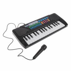 Синтезатор дет. 32 клавиши, микрофон, батар.AA*4шт. в компл.не вх.