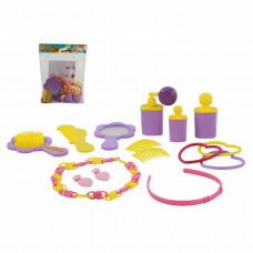 """Игровой набор салон красоты """"Маленькая принцесса"""" (14 элементов) (в пакете) Полесье"""