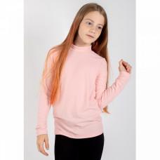 Водолазка для девочки розовая
