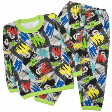 Пижама для мальчика цветная Юлла 1211001