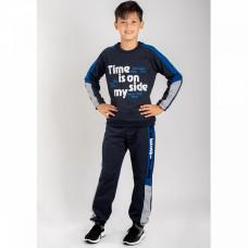Костюм спортивный для мальчика футер Юлла 8041300101