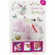 Набор для дизайна ногтей с аксессуарами Lukky 352028
