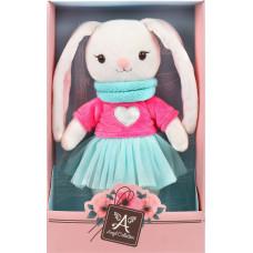 Мягкая игрушка Angel Collection Зайка Мишель в свитшоте