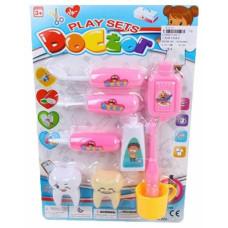Игровой набор стоматолога, 9 предметов Наша игрушка