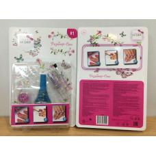 Набор для дизайна ногтей с аксессуарами Lukky 352027