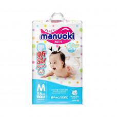 Подгузники-трусики Manuoki M 6-11 кг 56 шт