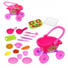 Игровой набор Посуда, в комплекте 19 предметов НАША ИГРУШКА 643218