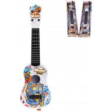 Гитара Монстрики 57 см, 4 стуны, в ассорт., коробка