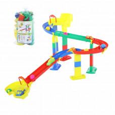 Развивающая игрушка Горка для шариков, набор №1 (в пакете) 38258