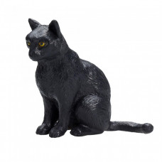 Mojo (Animal Planet) Черная Кошка сидит 387372