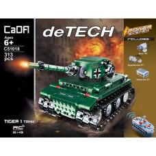 "Конструктор Double E Cada deTech ""Танк Tiger 1"""
