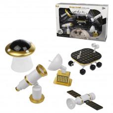 Игровой набор Астронавт, 5 предметов, 4х увеличение, свет, звук, элемент питания ААА*2 не входит в комплект, коробка