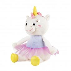 Мягкая игрушка Maxi Play «Единорожка Айси» белая в розовой юбке, озвученная, 20см, MP-122019-8