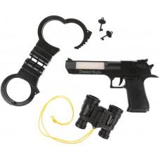 Игровой набор «Полиция», свет, звук, в комплекте: предметов 4шт Наша игрушка