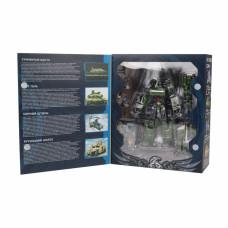 Трансформер Робот-танк, в комплекте оружие, коробка