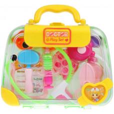 Игровой набор «Доктор», в комплекте 9 предметов, чемоданчик Наша игрушка