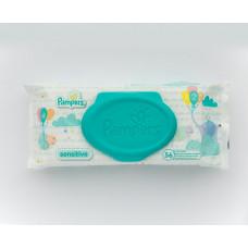 Салфетки влажные «Pampers» Sensitive детские, 56 шт