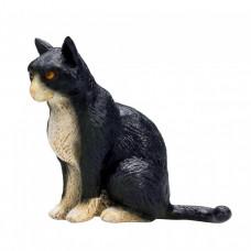 Mojo (Animal Planet) Черно-белая Кошка сидит 387371