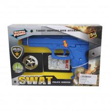 """Игровой набор """"Полиция"""", в комплекте: предметов 2 шт, тестовые элементы питания LR44*3шт, коробка 645409"""