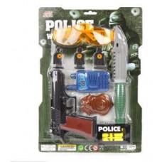 Игровой набор Полиция в комплекте 20 предметов 3 года + НАША ИГРУШКА 638554