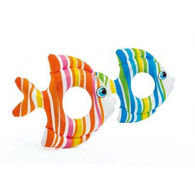 Круг для плавания Рыбки 77х76 см, от 3-6 лет