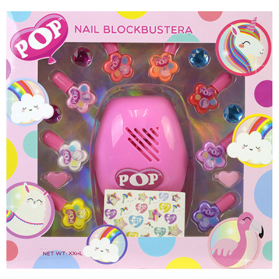 Игровой набор детской декоративной косметики для ногтей