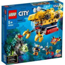 Конструктор LEGO City Oceans Океан: исследовательская подводная лодка