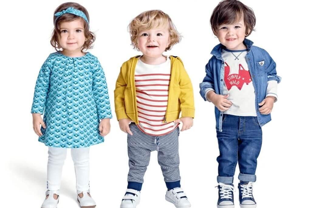 Детская одежда и ребенок