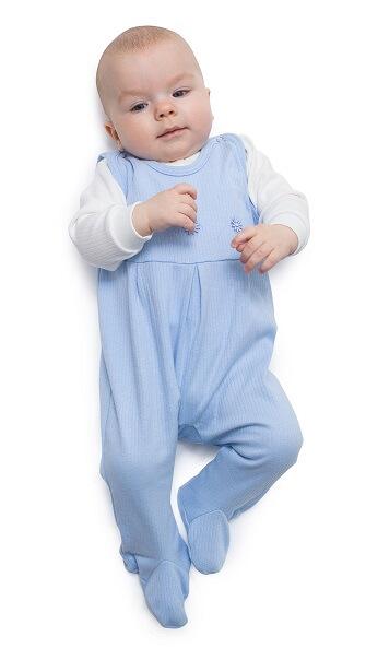 Ползунки на лямках для новорожденных